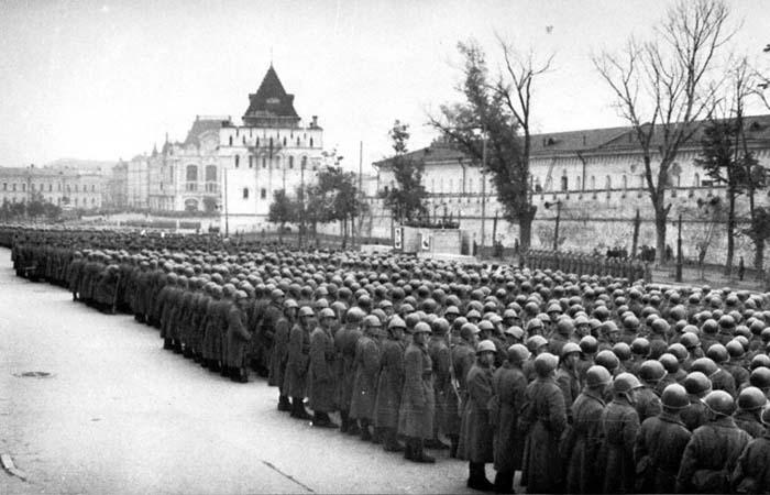 фото Горького в годы Великой Отечественной Войны.
