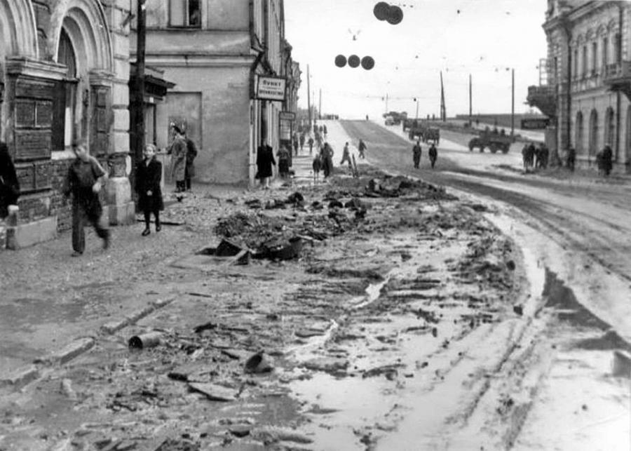 Исторические фото Горького в годы Великой Отечественной Войны.