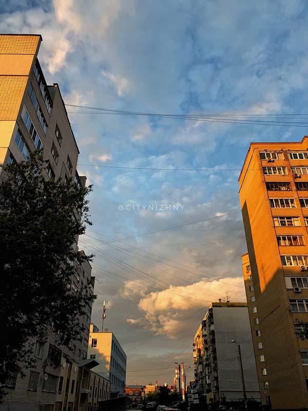 Вечерние улицы Сормовского района.
