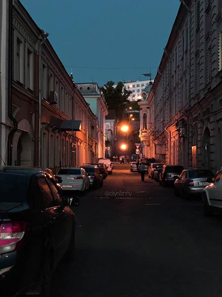 Летний вечер в Нижнем Новгороде.